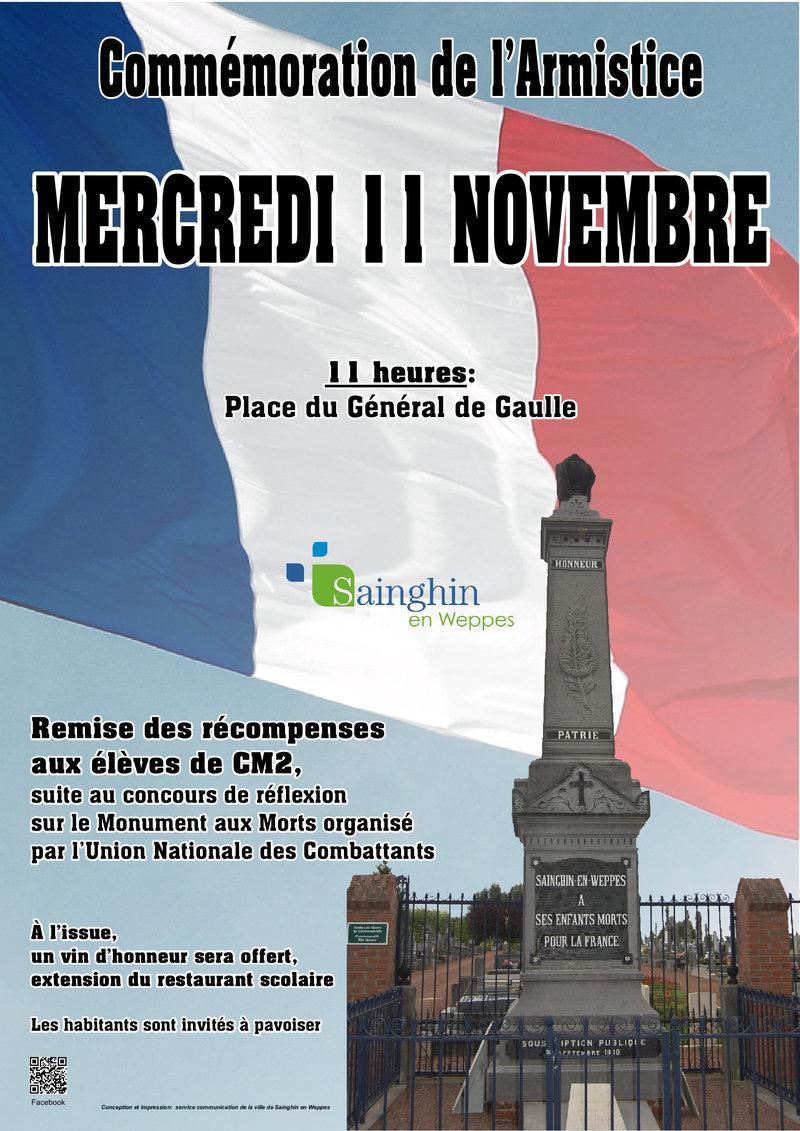 11 novembre 2015 - Sainghin-en-Weppes